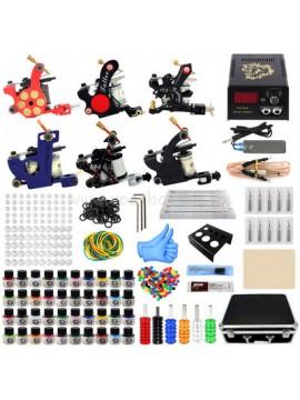 kit tatuaggi sei macchinas 40 Colores