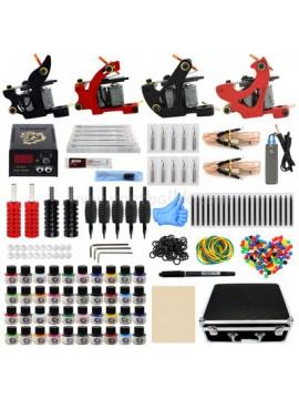 kit tatuaggi due Nero e due Rosso macchina 40 Colores