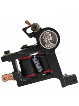macchinetta per tatuaggi N102 10 strato di bobina liner di ferro moneta