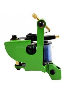 macchinetta per tatuaggi N102 10 strato di bobina liner di ferro Verde