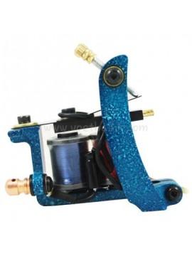 macchinetta per tatuaggi N102 10 strato di bobina shader di ferro Blu