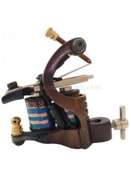 macchinetta tatuaggi N106 10 strato di bobina shader di ferro Retro