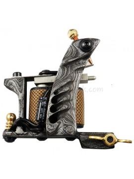 Tattoo macchina N109 10 strato di bobina Damasco Shader d'acciaio Modello