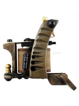 Tattoo macchina N109 10 strato di bobina Damasco Shader d'acciaio Argento