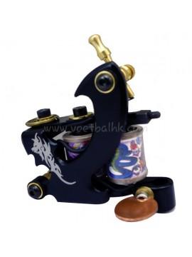 macchinetta per tatuaggi N120 10 strato di bobina Bronze Liner Drago Indietro