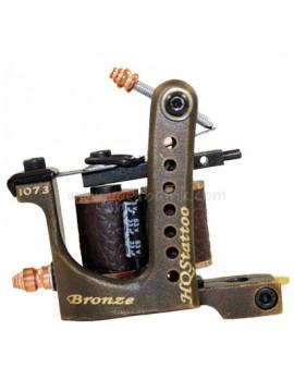 macchinetta per tatuaggi N120 10 strato di bobina shader di bronzo 1073