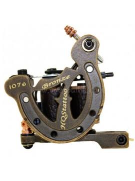 macchinetta per tatuaggi N120 10 strato di bobina shader di bronzo 1076