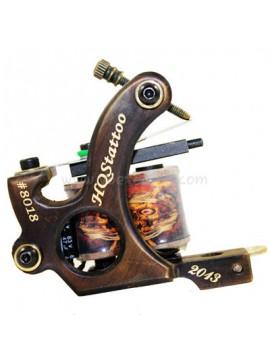 macchinetta tattoo N130 10 strato di bobina shader di bronzo numero 8018