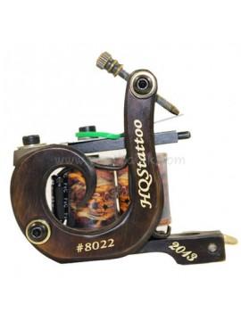 macchinetta tattoo N130 10 strato di bobina shader di bronzo numero 8022