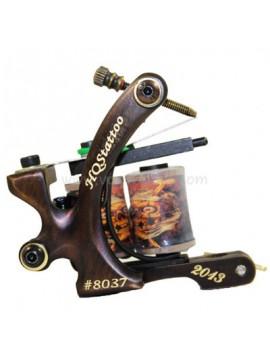 macchinetta tattoo N130 10 strato di bobina shader di bronzo numero 8037