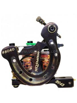 macchinetta tattoo N130 10 strato di bobina shader di bronzo numero 8040