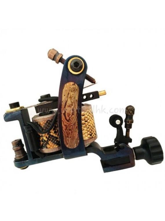 macchinetta tattoo N140 10 strato di bobina shader di bronzo Lasherweave